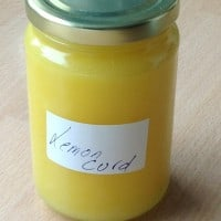 a jar of Lemon Curd