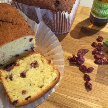 Cranberry and Almond loaves