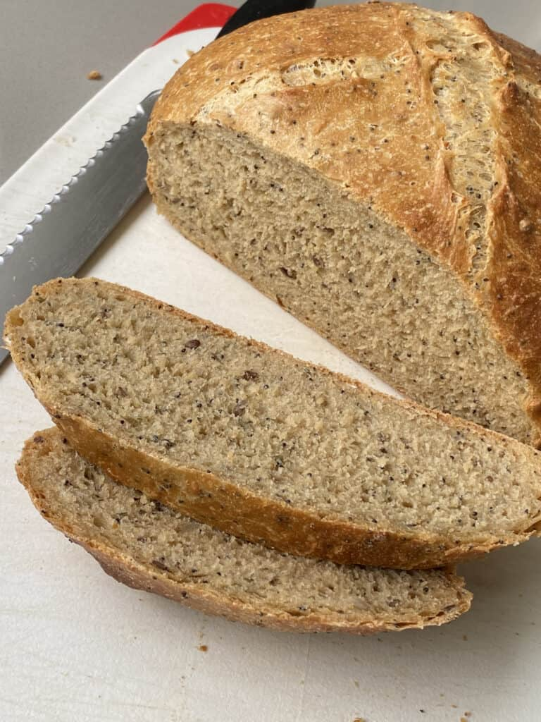 Carrs Six Seed baked bread