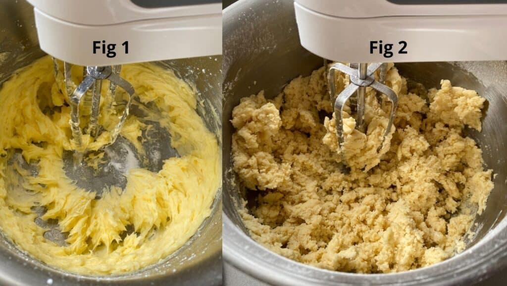 Mixing Shortbread dough